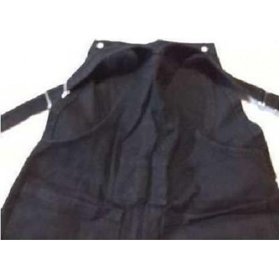 Salopette jeans nero donna casual denim Le Griffe - BJD 045