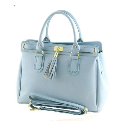 Borsa a mano chic da donna in vera pelle luxury - Lisa