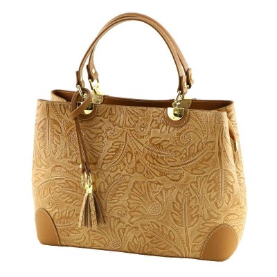 Borsa a mano donna in pelle - Leyla - IFG 01064