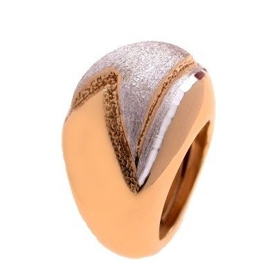 Anello chic donna in argento placcato oro rosa AN 003 Italianfashionglam