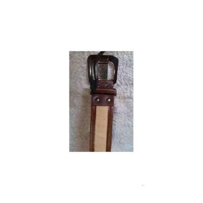 Cintura donna tela e pelle sabbia Breach CRD 001