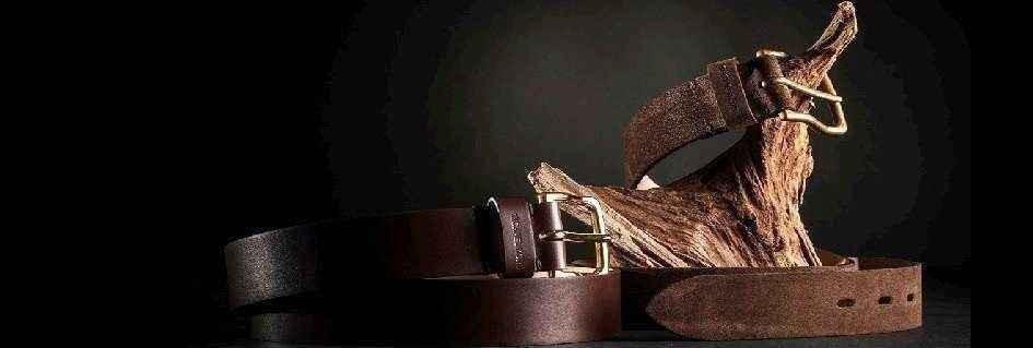 Le cinture fashion da uomo in pelle griffate e fashion