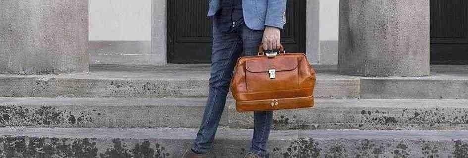 Le borse da medico in pelle artigianali griffate made in Italy