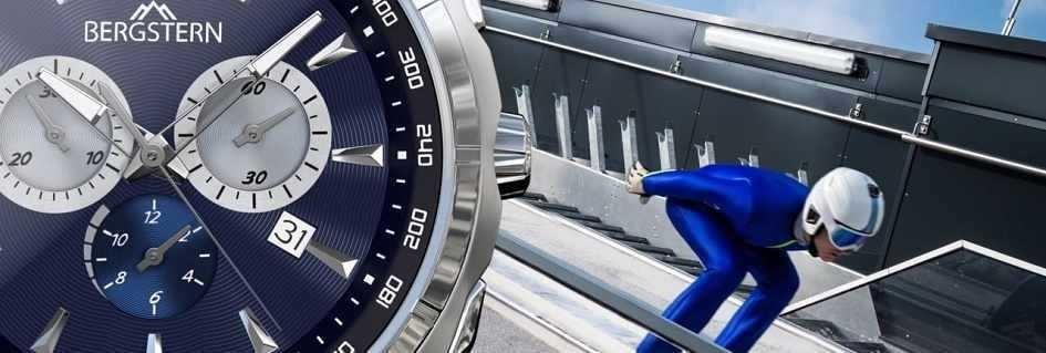 Collezione orologi uomo di precisione e stile Bergstern realizzati con materiali innovativi e sofisticati a garanzia di qualità  ed eleganza in qualsiasi circostanza di utilizzo.