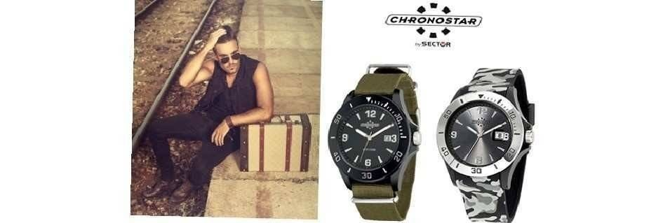 Collezione di orologi uomo Chronostar.