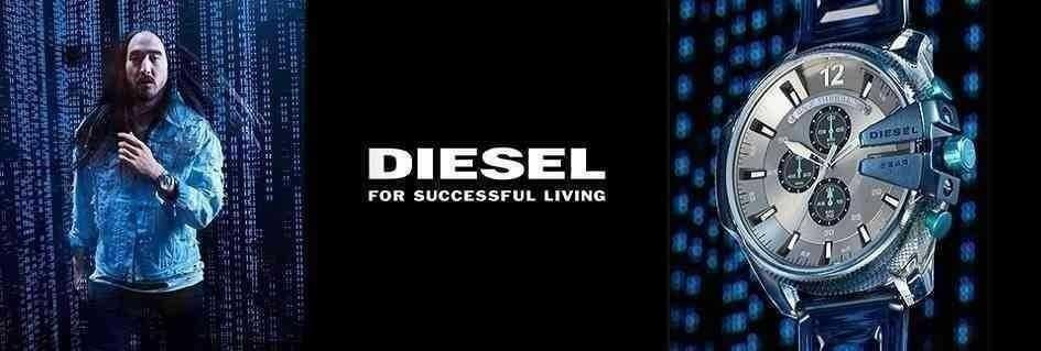 Collezione orologi uomo di tendenza Diesel dal design moderno e sofisticato realizzati con materiali di alta qualità
