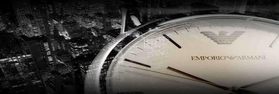 Esclusiva collezione di orologi fashion da uomo dal design unico realizzati con materiale di eccellenza  Emporio Armani