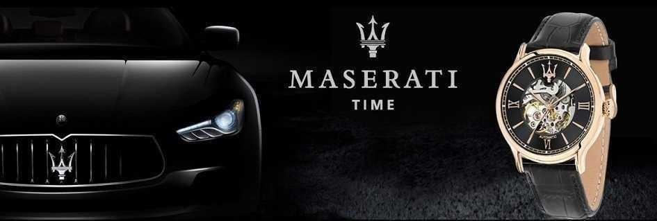 Prestigiosa ed esclusiva collezione di orologi da uomo.Modelli dal carattere sportivo e dalla massima precisione.Maserati.