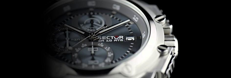 Sector gli orologi da uomo glamour senza limiti ed ostacoli
