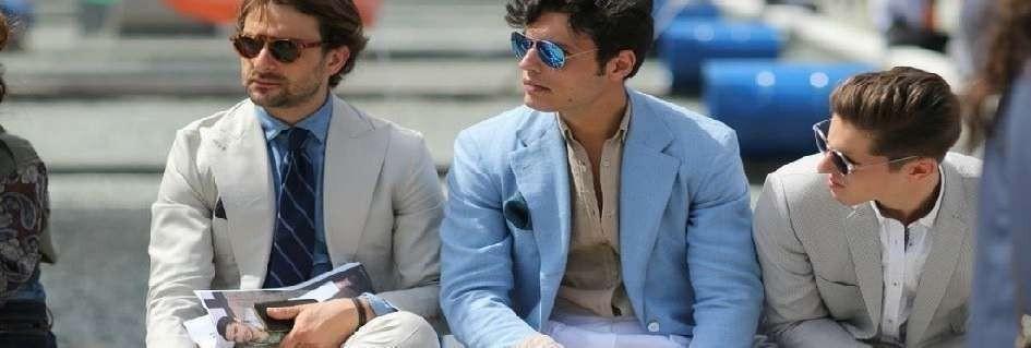 Le giacche moda uomo griffate trendy made in Italy