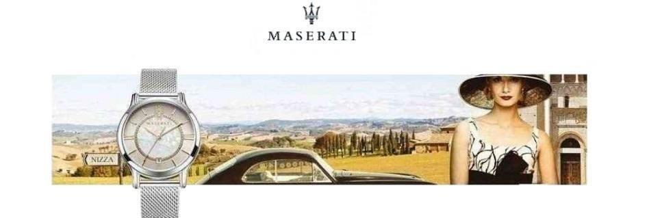 Collezione orologi da donna Maserati