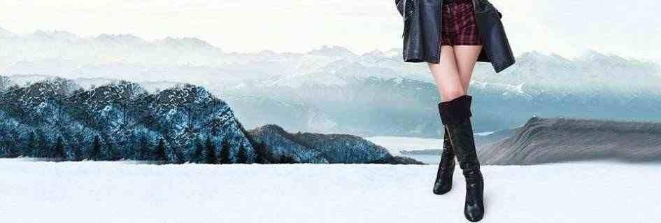 Collezione di stivali al ginocchio da donna