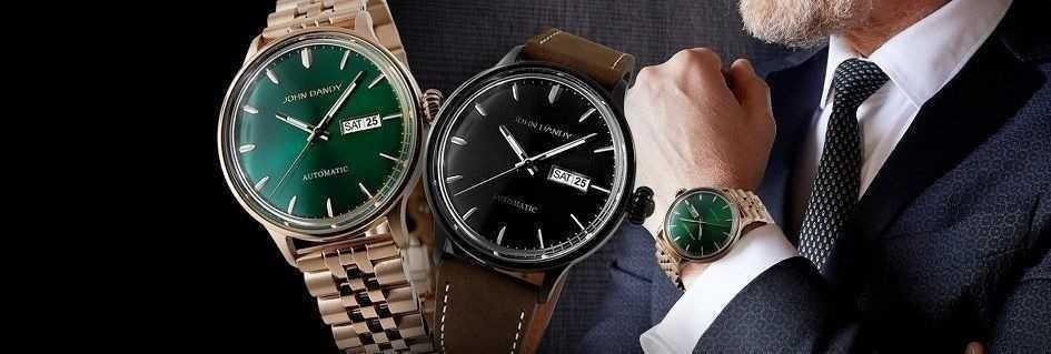 Gli orologi snob da uomo John Dandy con stile ed eleganza