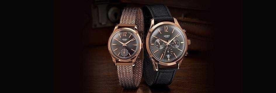 Henry London gli orologi unisex l'eleganza British