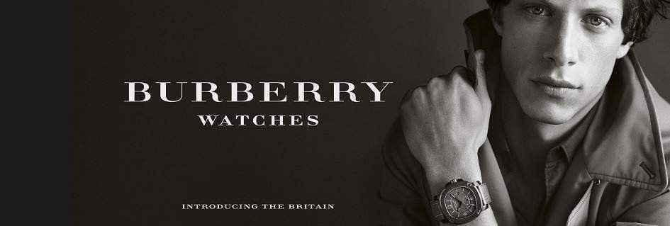 Burberry gli orologi da uomo classe e British style