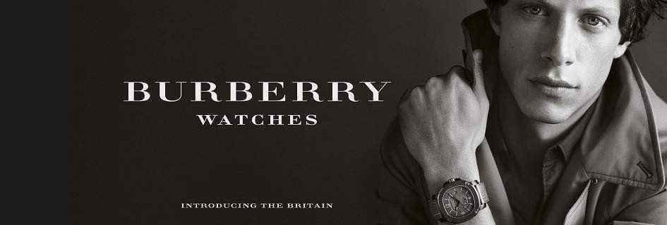 Raffinata collezione orologi uomo Burberry