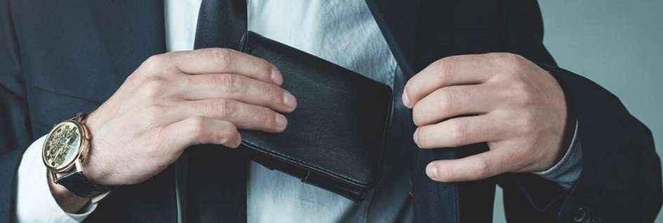 I portafogli uomo artigianali in pelle Made in Italy