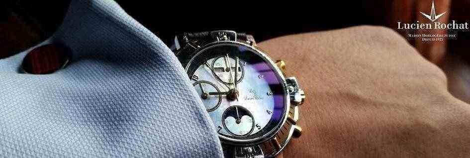 Le eleganti collezioni di orologi da uomo Lucien Rochat