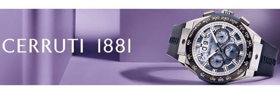 Cerruti 1881 gli orologi da uomo lo stile e la classe
