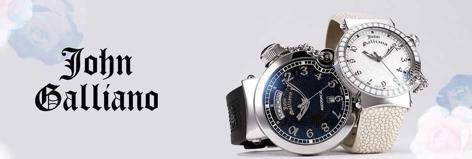 John Galliano gli orologi da uomo il carattere glamour trendy