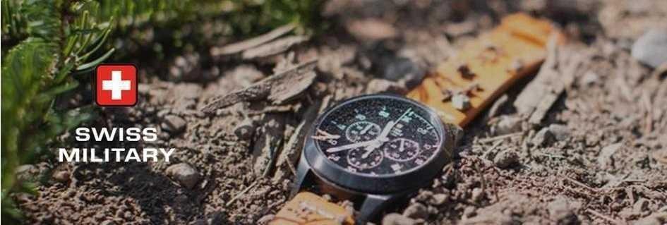 Swiss Military è il brand degli orologi dello sport style