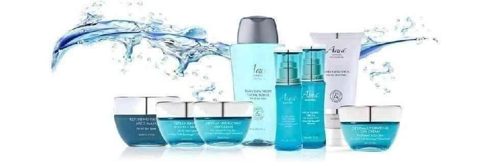 Facial care Aqua Mineral cosmesi per viso ed il collo