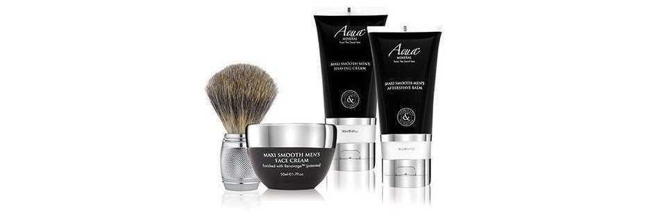 Aqua Mineral Men's cosmesi da rasatura e cura del viso