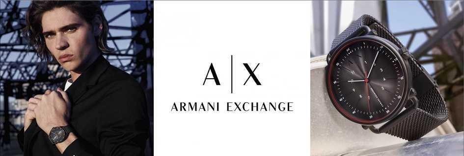 Armani Exchange uomo la collezione di orologi fashion