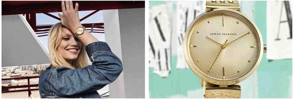 Armani Exchange orologi da donna le collezioni glamour