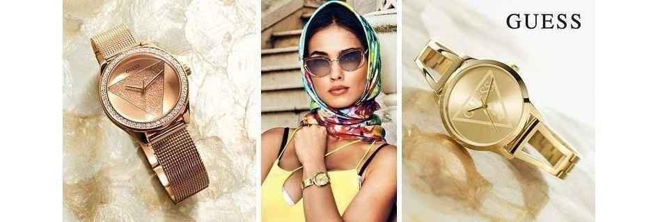 Guess gli orologi da donna lo stile ed il glamour