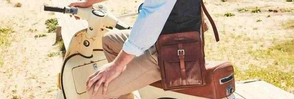 Gli eleganti borselli uomo in pelle griffati e fashion