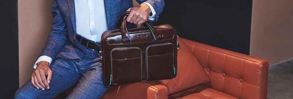 Le borse artigianali da uomo in vera pelle luxury